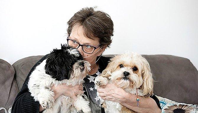 'Mijn hondjes geven zó veel vreugde.'