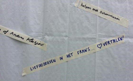 Hulpaanbod: 'liefdesbrieven in het Frans vertalen'
