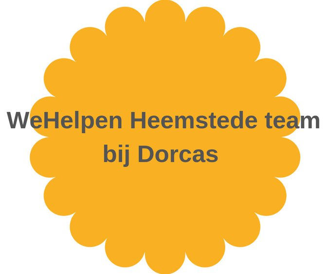 28 maart WeHelpen Heemstede bij Dorcas