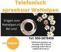 WeHelpen Groningen nu ook telefonisch bereikbaar