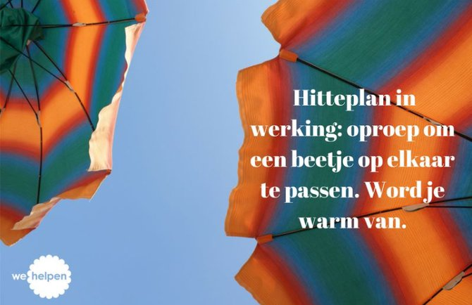 Hitteplan: word je warm van!