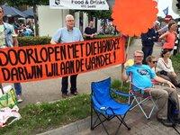 WeHelpen en de 4daagse lopers in Nijmegen